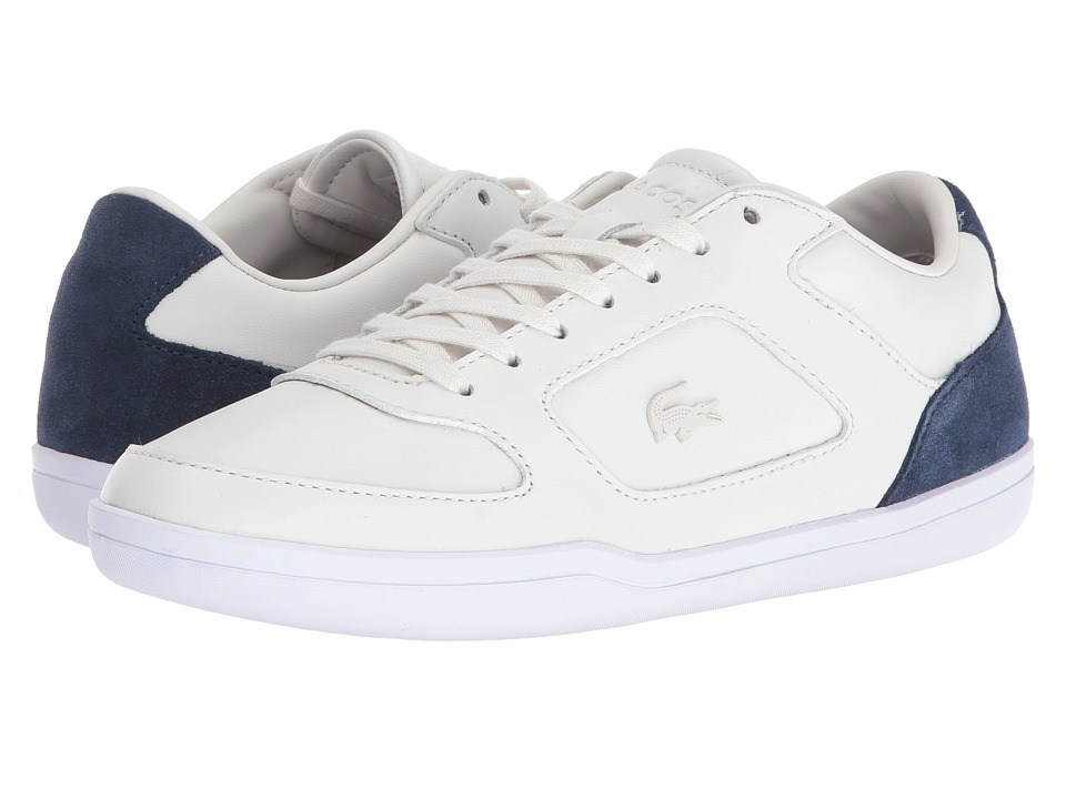Lacoste - Court-Minimal 416 1 (Off-White) Men's Shoes
