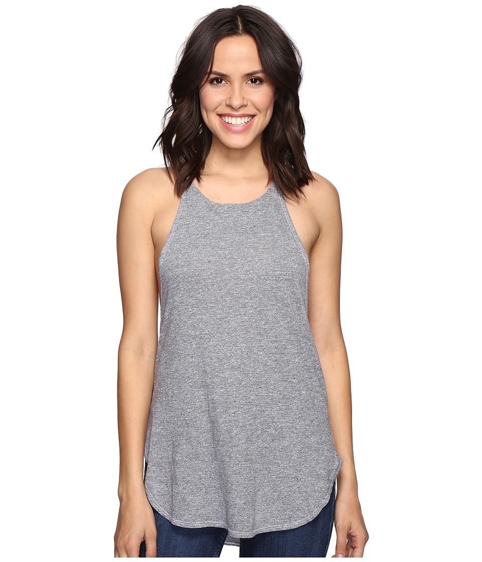 Lanston - Side Drop Tunic Tank Top (Heather) Women's Sleeveless