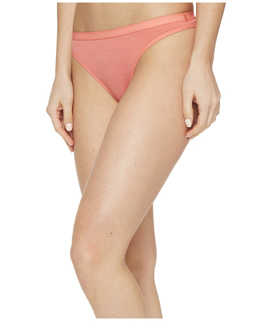 Icebreaker - Siren Thong (Tulip/Tulip) Women's Underwear