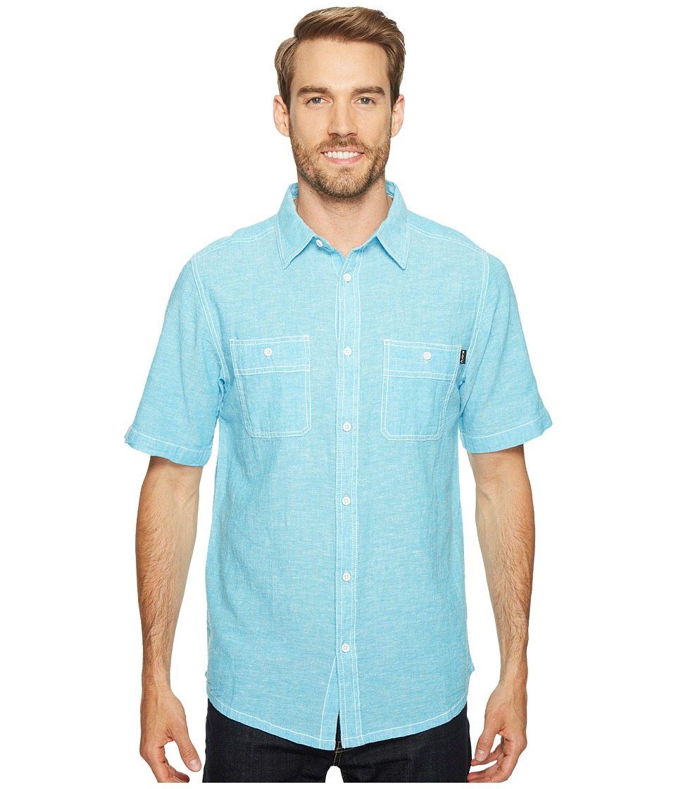 KAVU - Jacksonville Shirt (Sea Breeze) Men's T Shirt