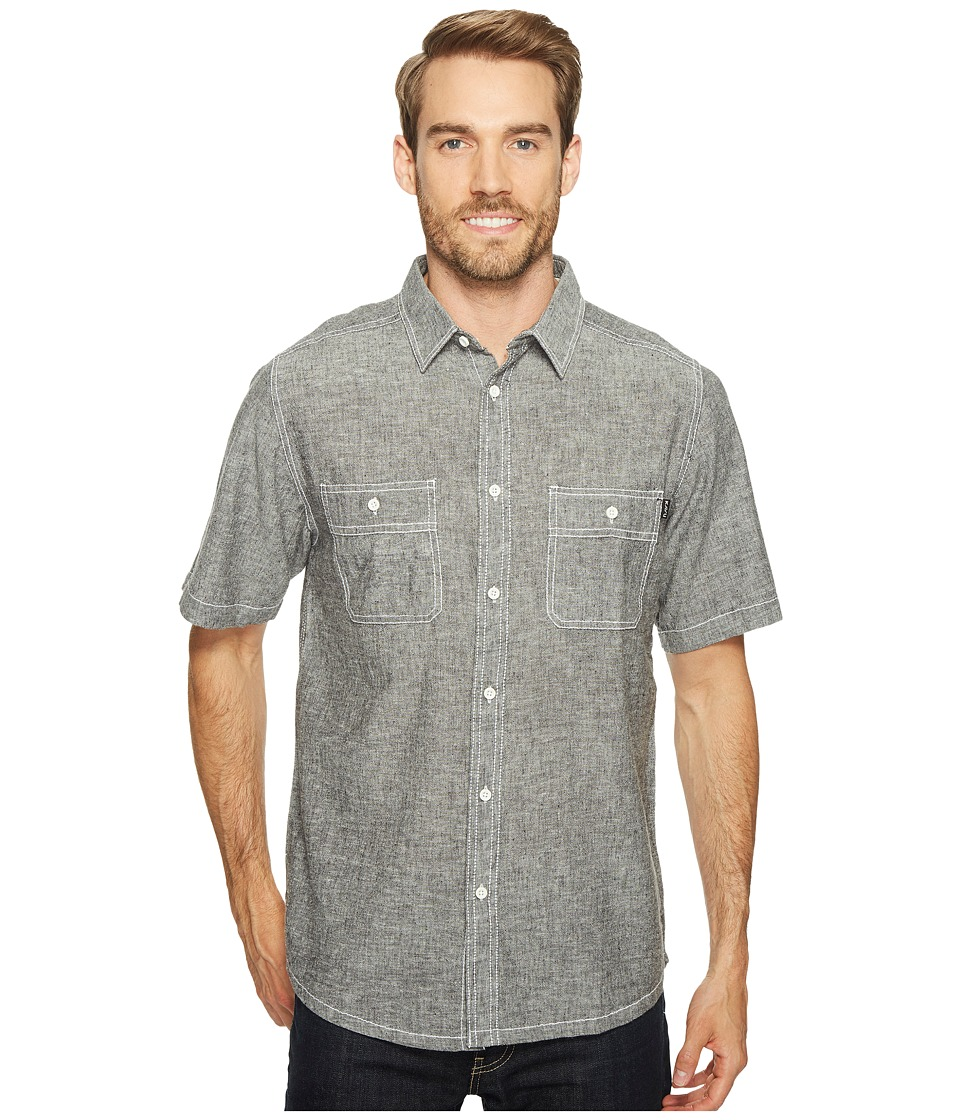 KAVU - Jacksonville Shirt (Black Smoke) Men's T Shirt