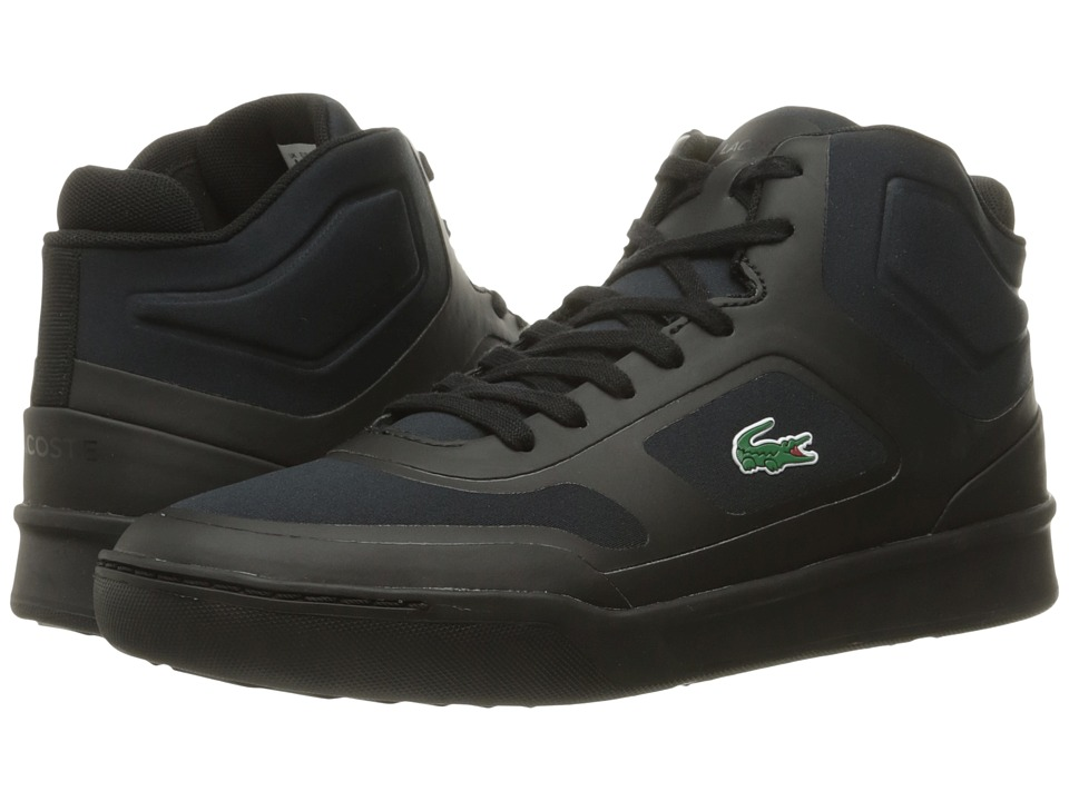 Lacoste - Explorateur Mid SPT 316 1 (Black/Black) Men's Shoes
