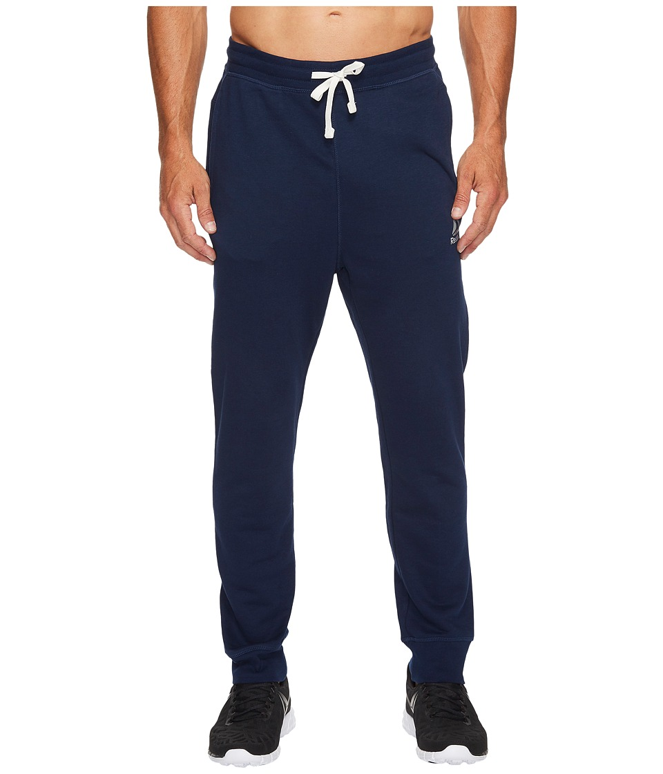 Reebok - Elements Seasonal French Terry Cuff Pants (Collegiate Navy) Men's Casual Pants