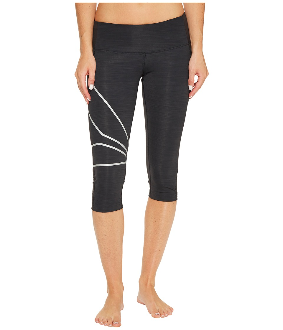 Reebok - One Series Running Capris (Black) Women's Capri
