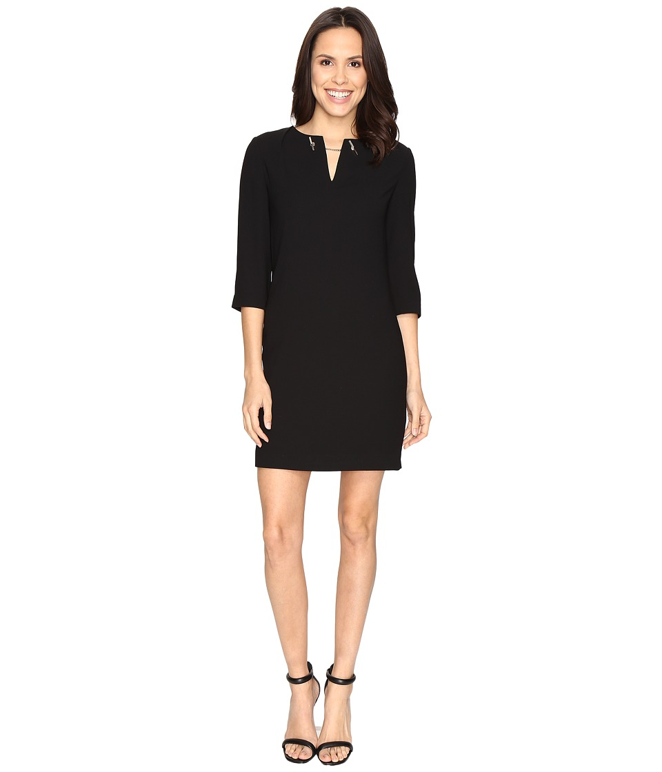 Ted Baker - Joyita Tunic with Chain Detail (Black) Women's Blouse