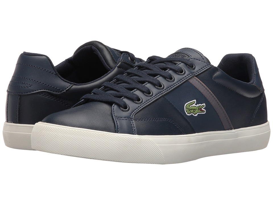 Lacoste - Fairlead 416 1 (Navy) Men's Shoes