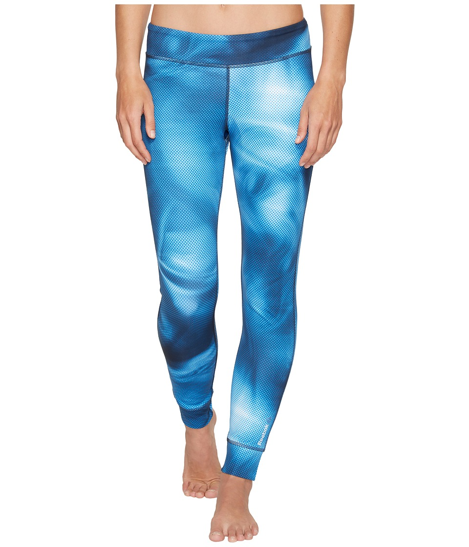 Reebok - Techtural Tights (Echo Blue) Women's Workout