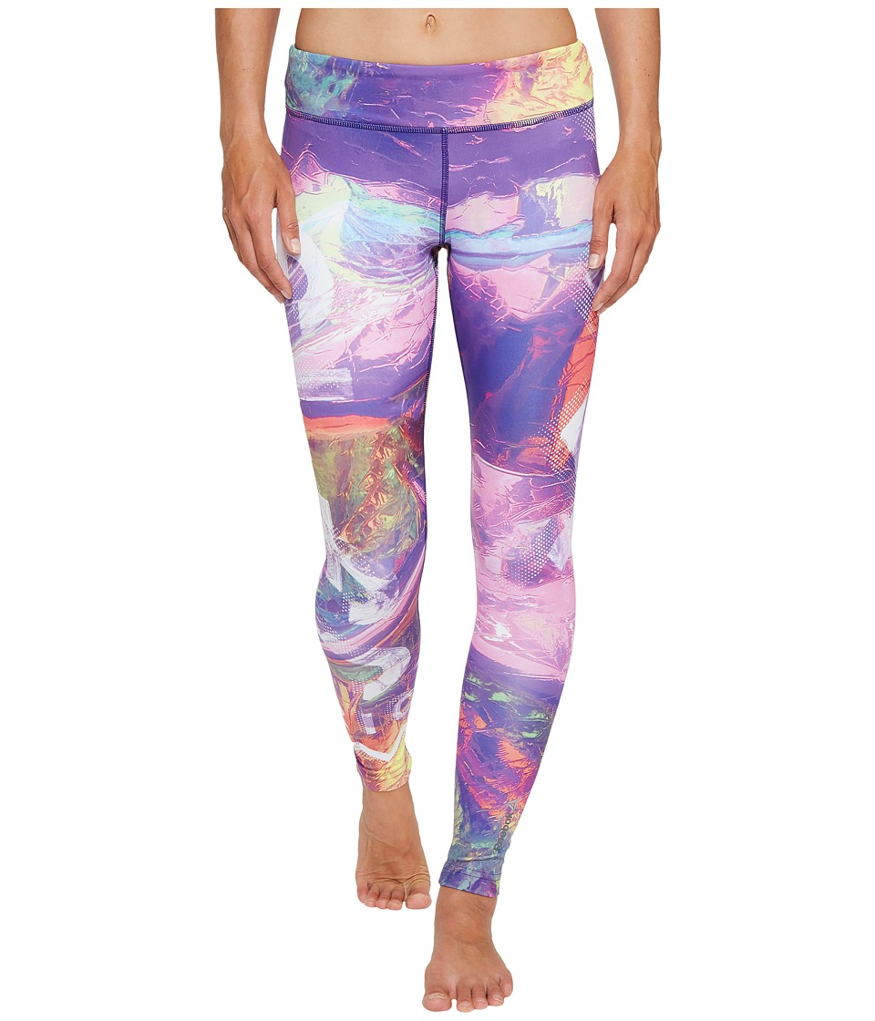 Reebok - Dance Electric Paradise Tights (Peppy Pink) Women's Workout