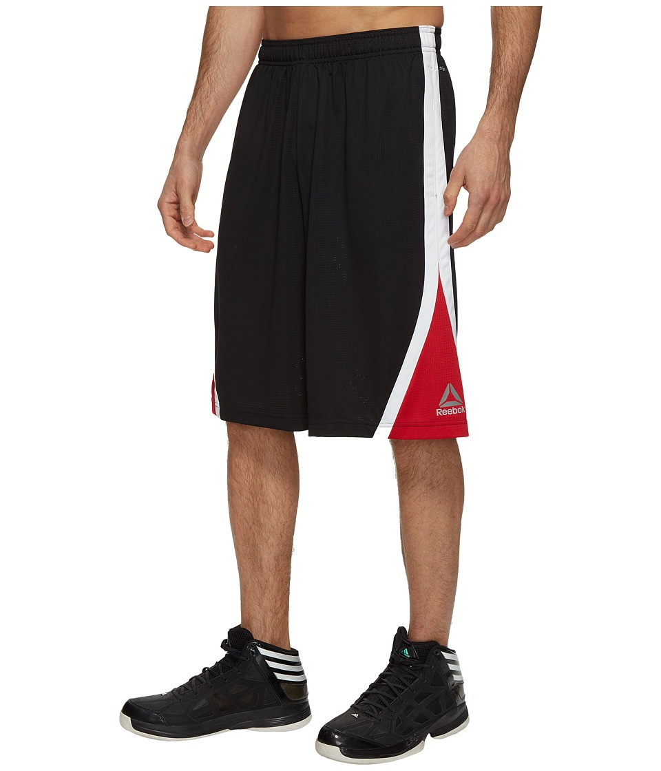 Reebok - US Workout Basketball Shorts (Black) Men's Shorts