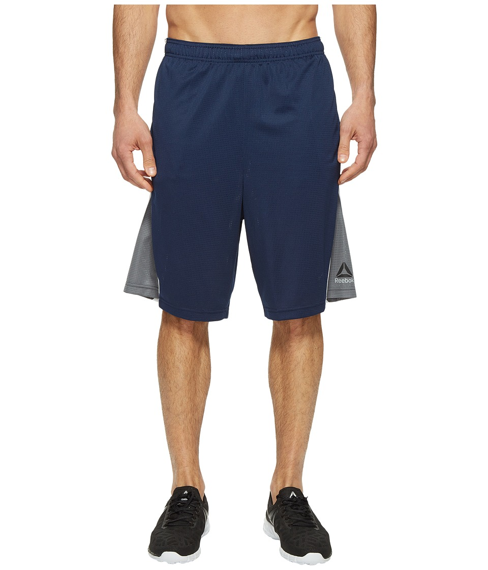 Reebok - US Workout Basketball Shorts (Collegiate Navy) Men's Shorts