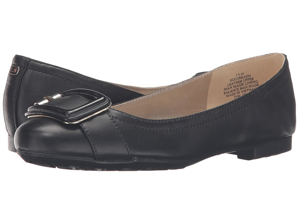 Bandolino - Corrado (Black/Black Leather) Women's Shoes