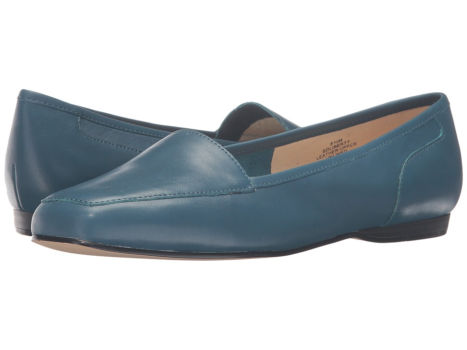 Bandolino - Liberty (Alpine Teal Leather) Women's Slip on Shoes
