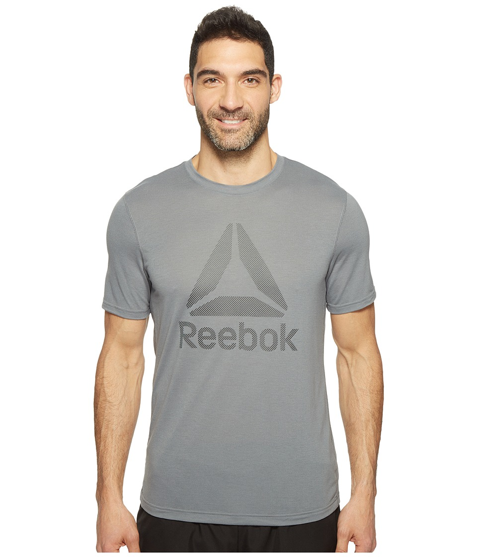 Reebok US Workout Ready Supremium 2.0 Tee Big Logo (Alloy) Men