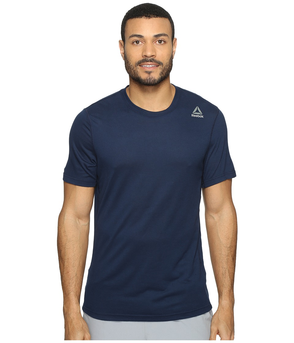 Reebok - US Workout Ready Supremium 2.0 Tee Sleeveless (Collegiate Navy) Men's T Shirt