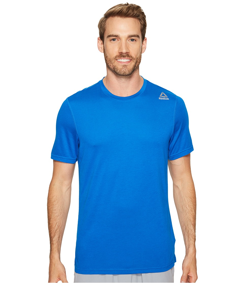 Reebok US Workout Ready Supremium 2.0 Tee Sleeveless (Awesome Blue Melange) Men