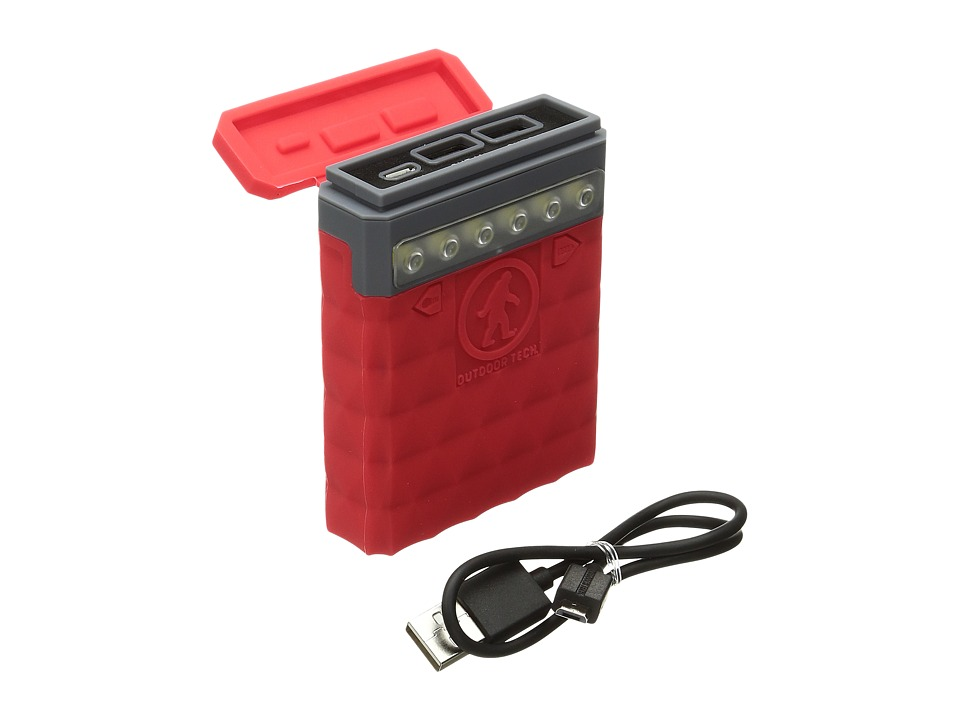 Outdoor Tech - Kodiak 2.0 Powerbank (Red) Headphones