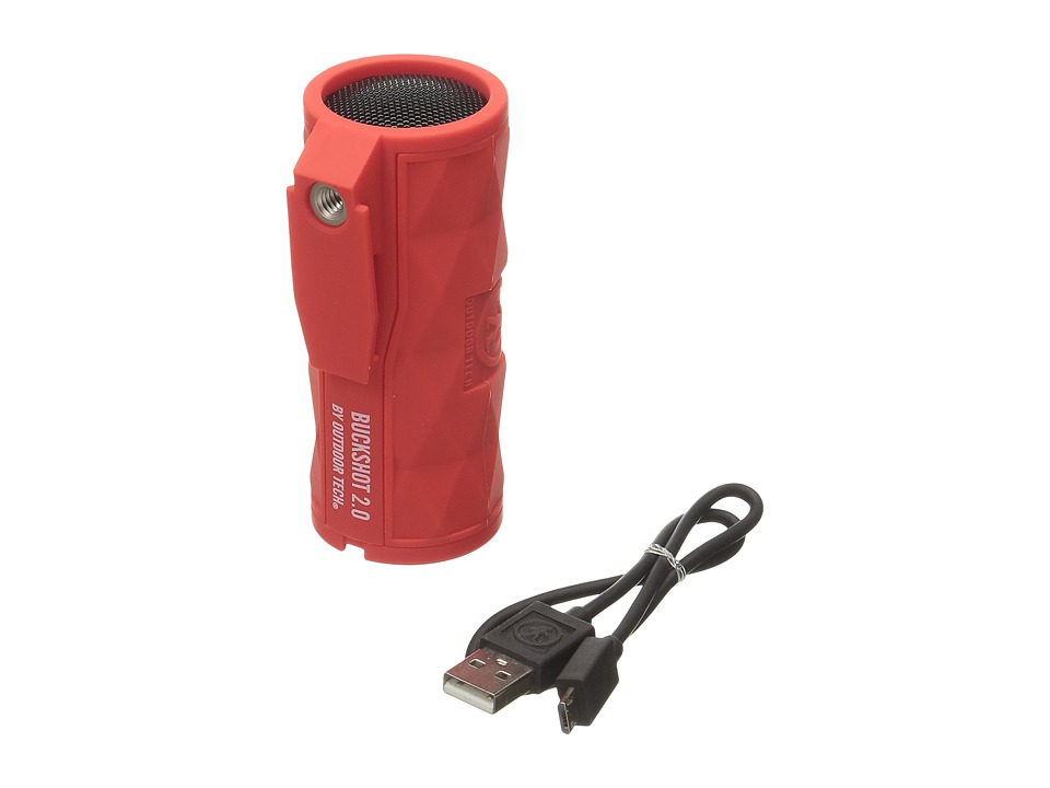 Outdoor Tech - Buckshot 2.0 Wireless Speaker (Red) Headphones