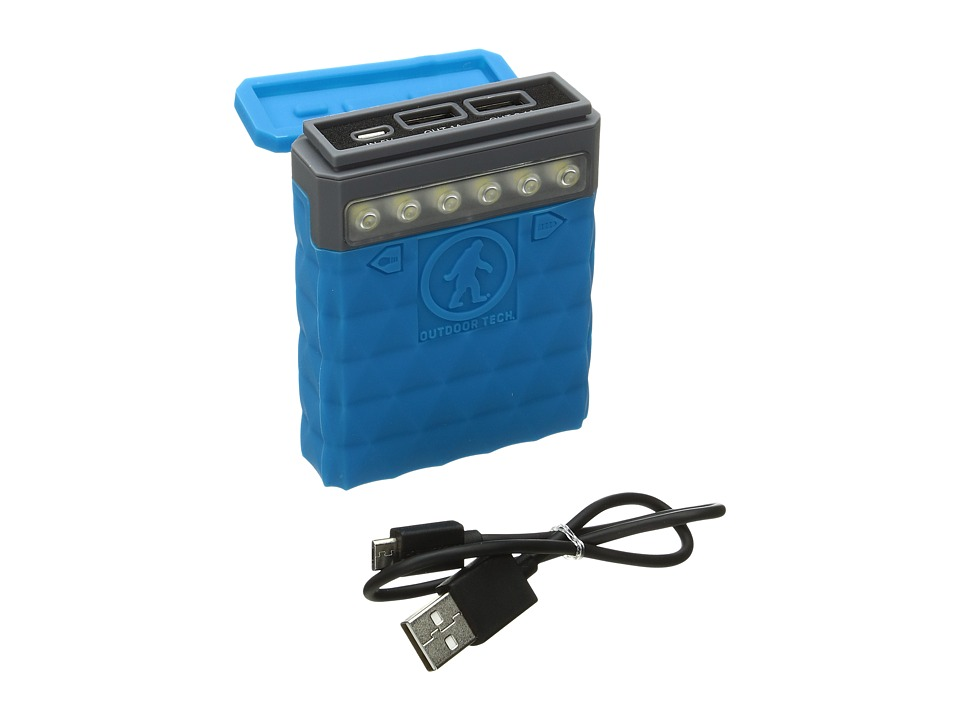 Outdoor Tech - Kodiak 2.0 Powerbank (Electric Blue) Headphones