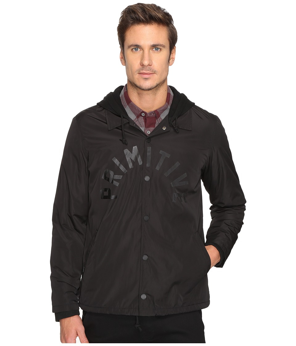 Primitive - Twofer Coach Jacket (Black) Men's Coat
