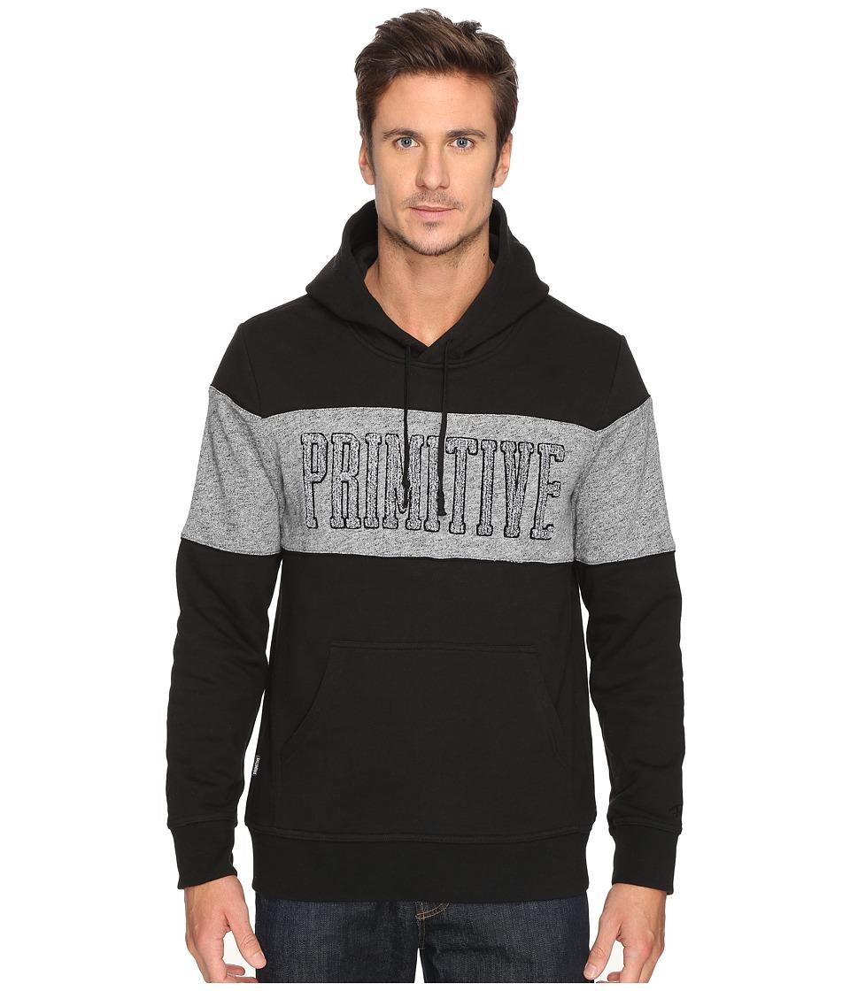 Primitive - Sprinter Piped Hood Jacket (Black) Men's Coat