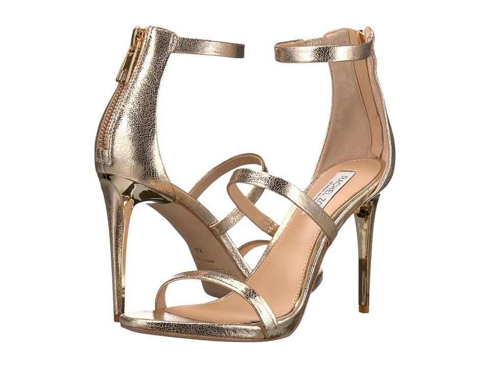 Rachel Zoe - Viv (Light Gold Crinkle Metallic) High Heels