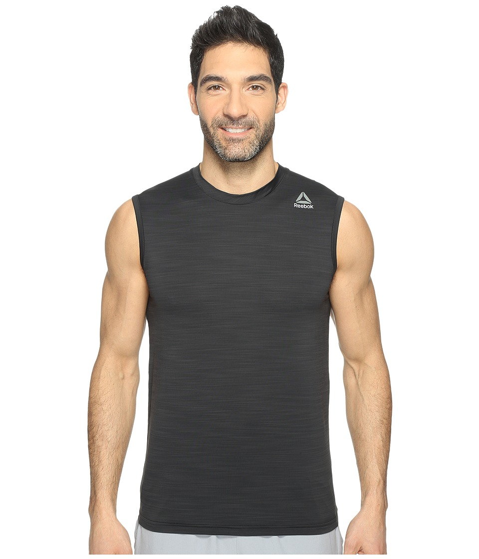 Reebok - Workout Ready Active Chill Sleeveless (Black) Men's Sleeveless