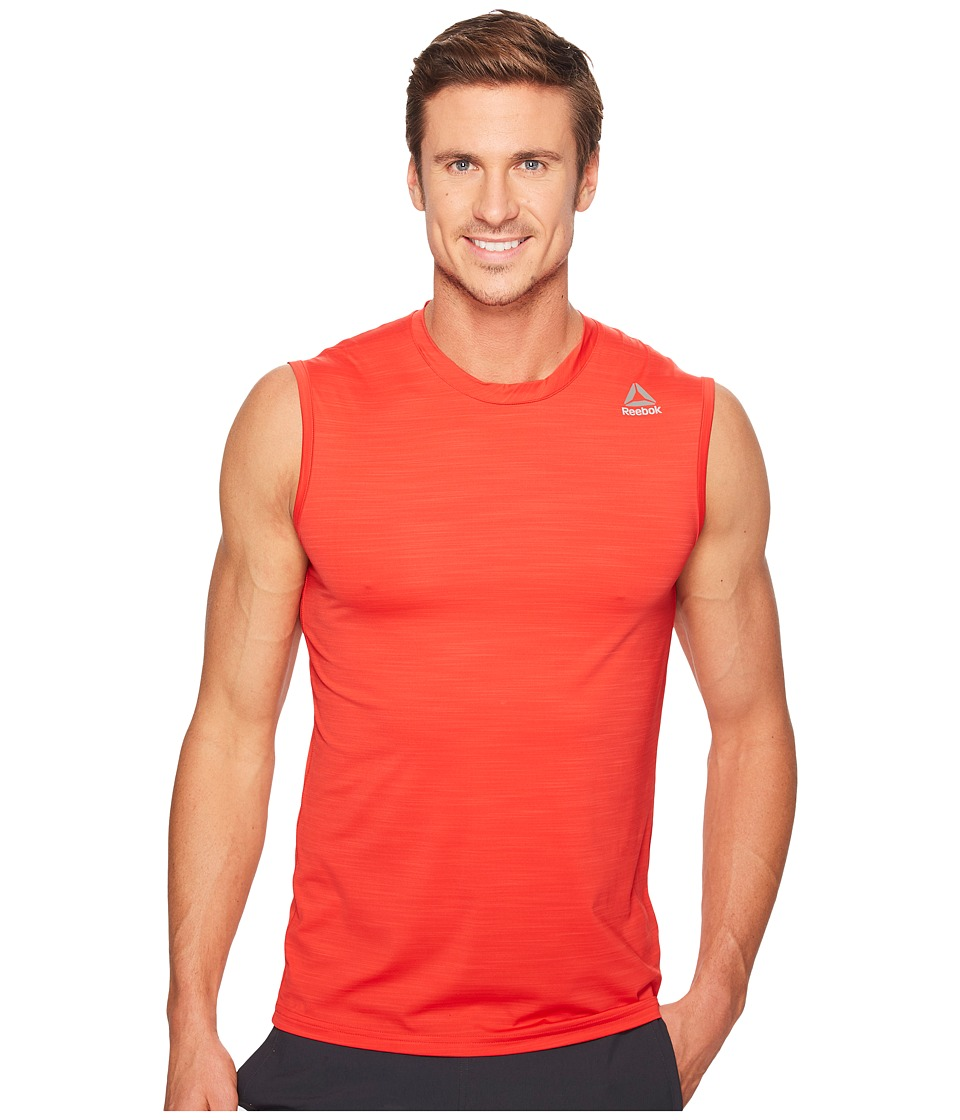 Reebok - Workout Ready Active Chill Sleeveless (Primal Red) Men's Sleeveless