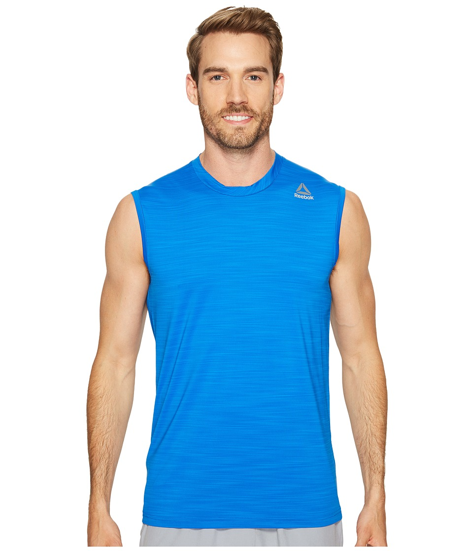 Reebok - Workout Ready Active Chill Sleeveless (Awesome Blue) Men's Sleeveless