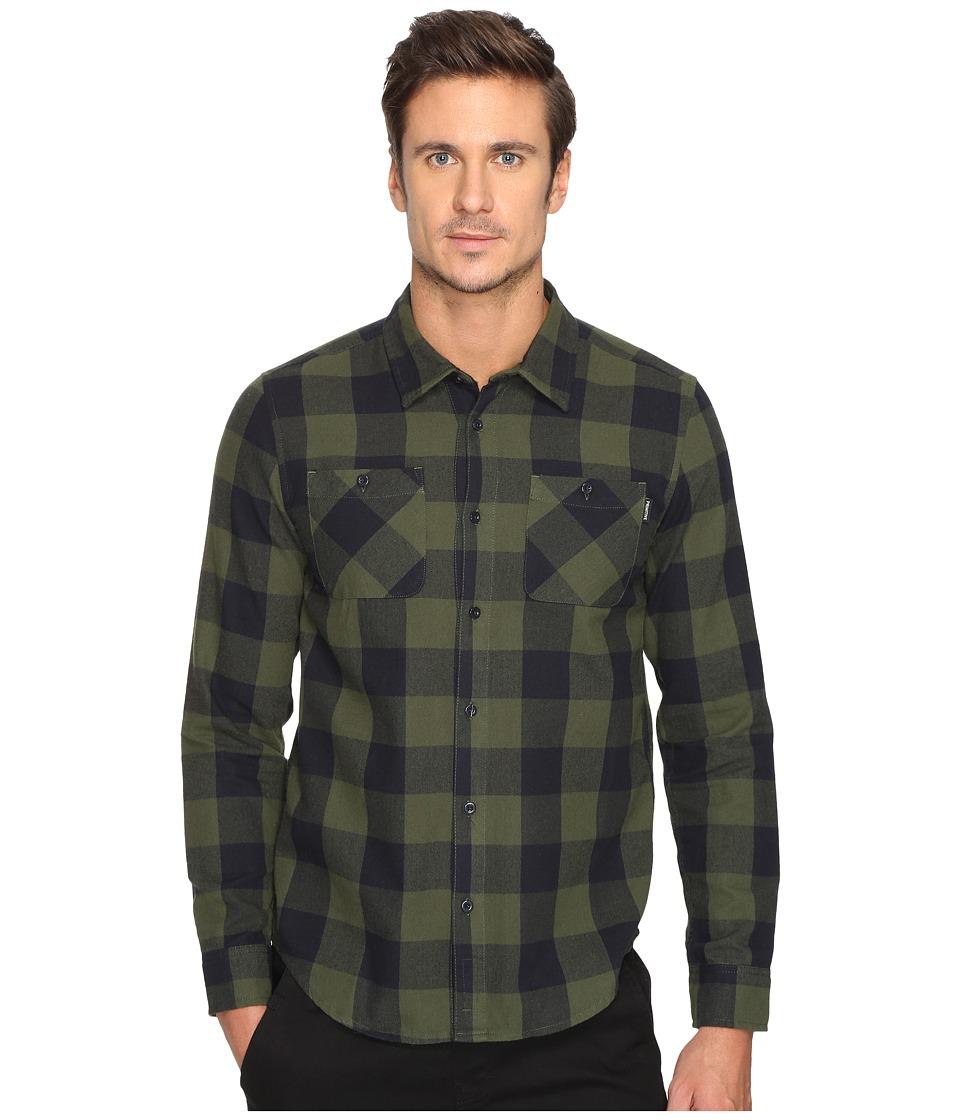 Primitive - Herringbone Buffalo Flannel (Pine Needle) Men's Clothing