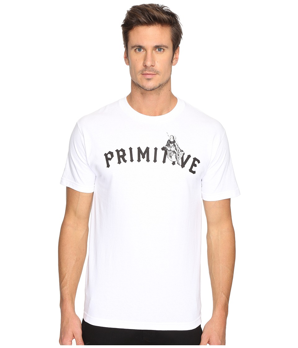 Primitive - Smokin' Nun Tee (White) Men's T Shirt
