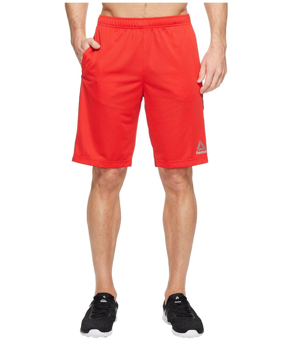 Reebok - Workout Ready Mesh Shorts (Primal Red) Men's Shorts