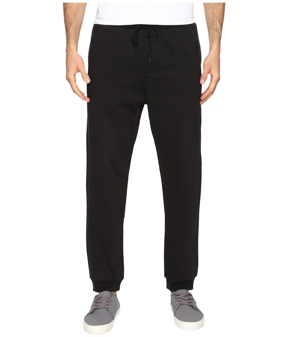 Primitive - A-Frame Fleece Pants (Black) Men's Casual Pants