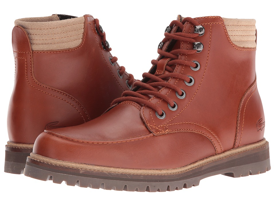 Lacoste Montbard Boot 416 1 (Tan) Men