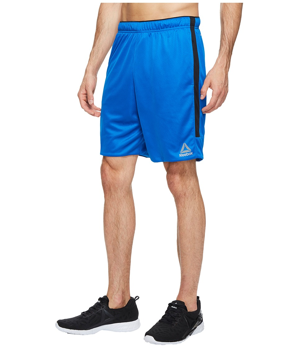 Reebok Workout Ready Knit Shorts (Awesome Blue) Men