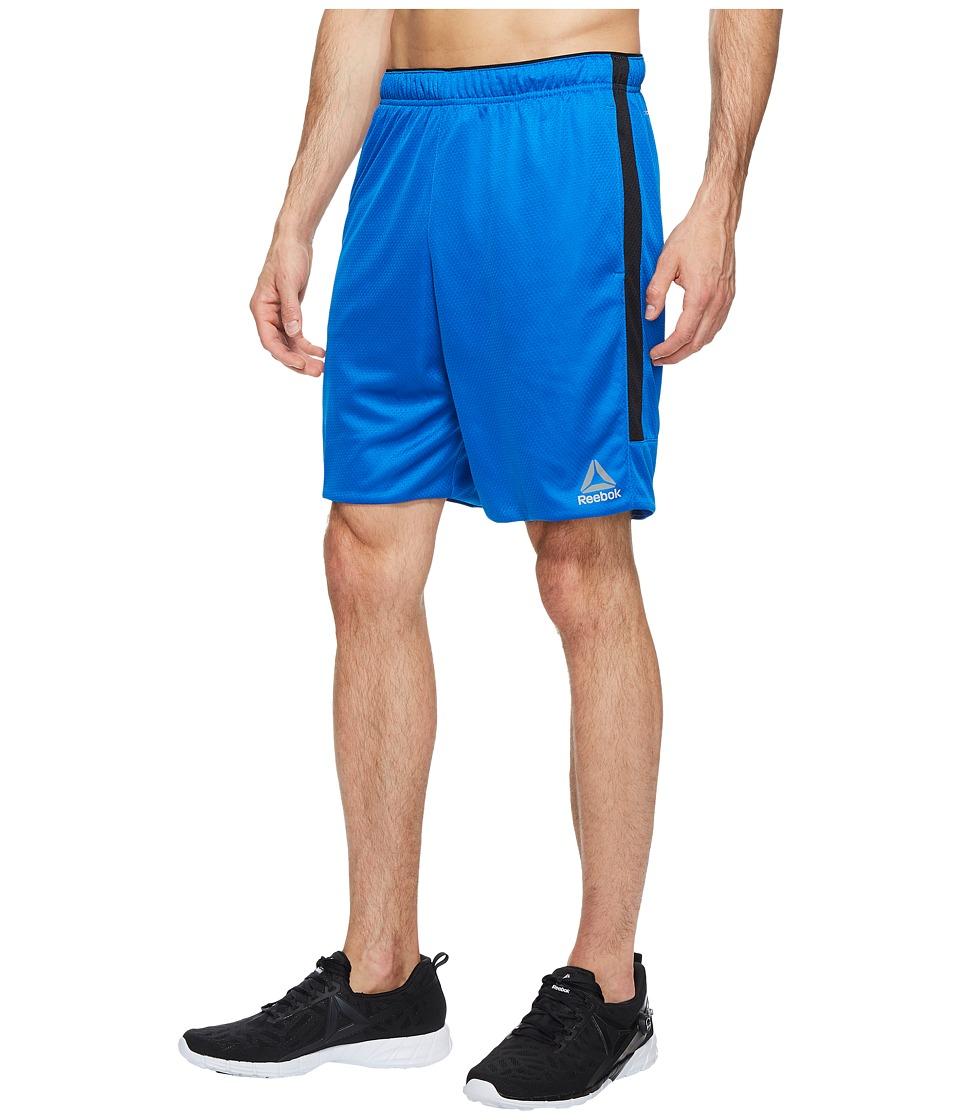 Reebok - Workout Ready Knit Shorts (Awesome Blue) Men's Shorts