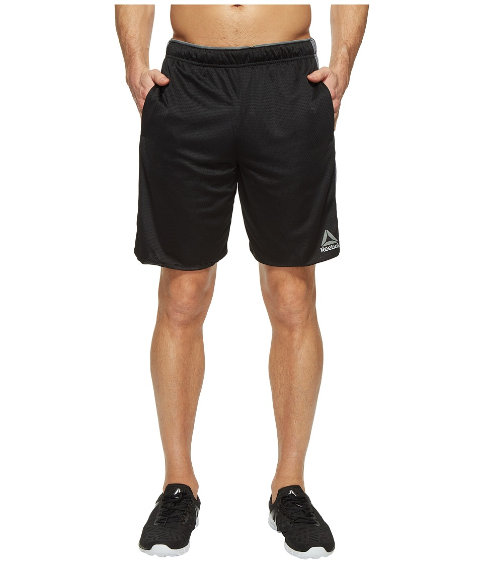 Reebok Workout Ready Knit Shorts (Black) Men