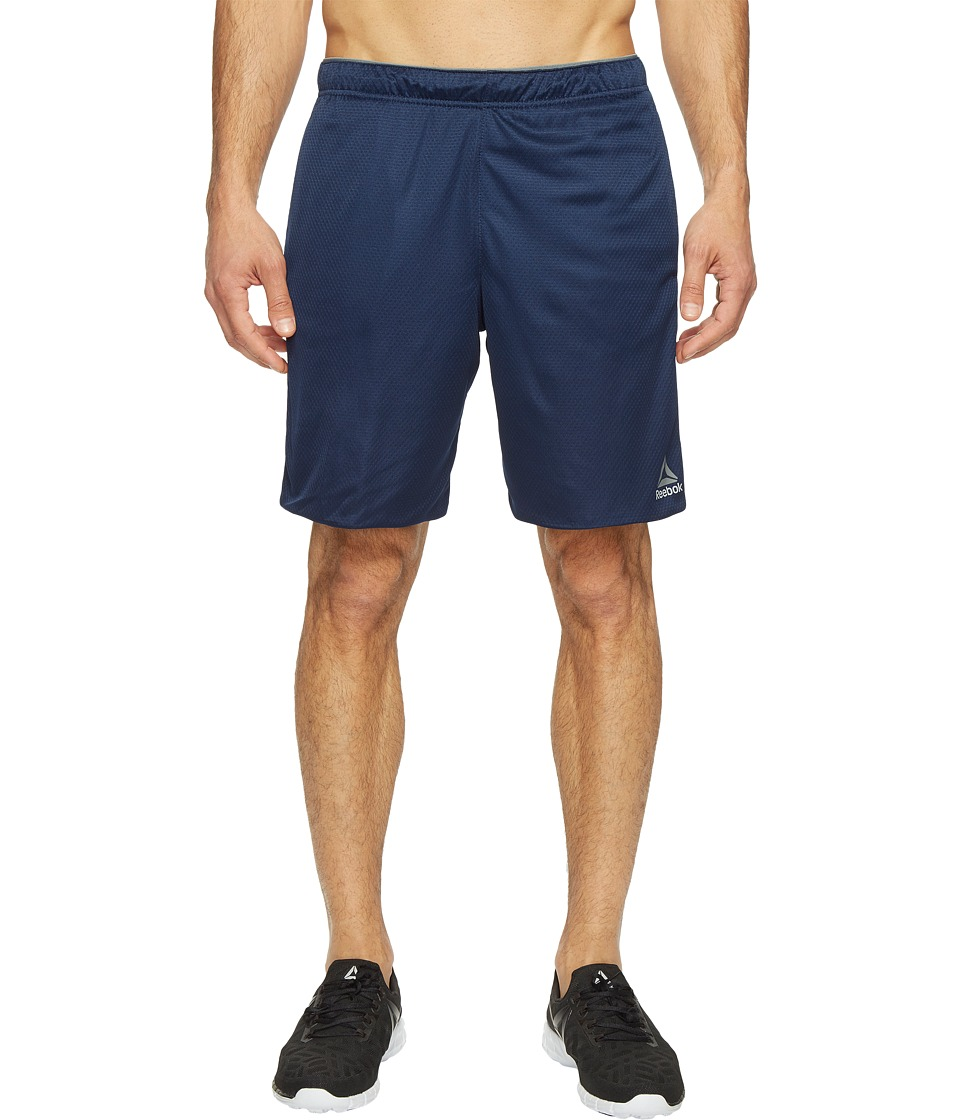 Reebok Workout Ready Knit Shorts (Collegiate Navy) Men