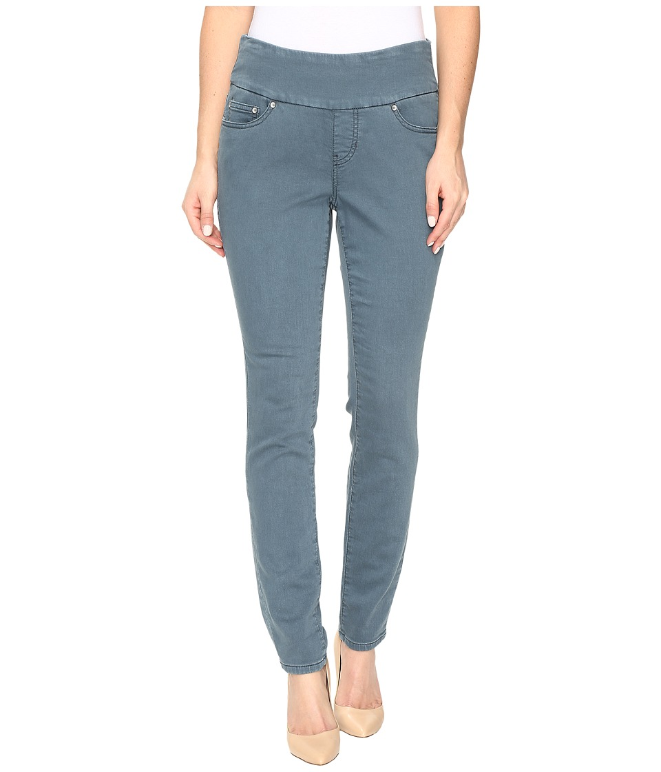 Jag Jeans Petite - Petite Nora Pull-On Skinny Freedom Colored Knit Denim in Opal (Opal) Women's Jeans
