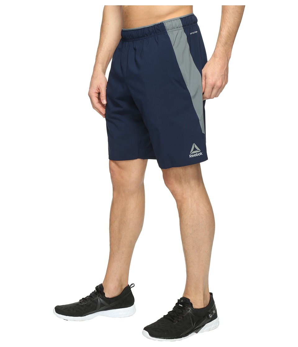 Reebok Workout Ready Woven Shorts (Collegiate Navy) Men