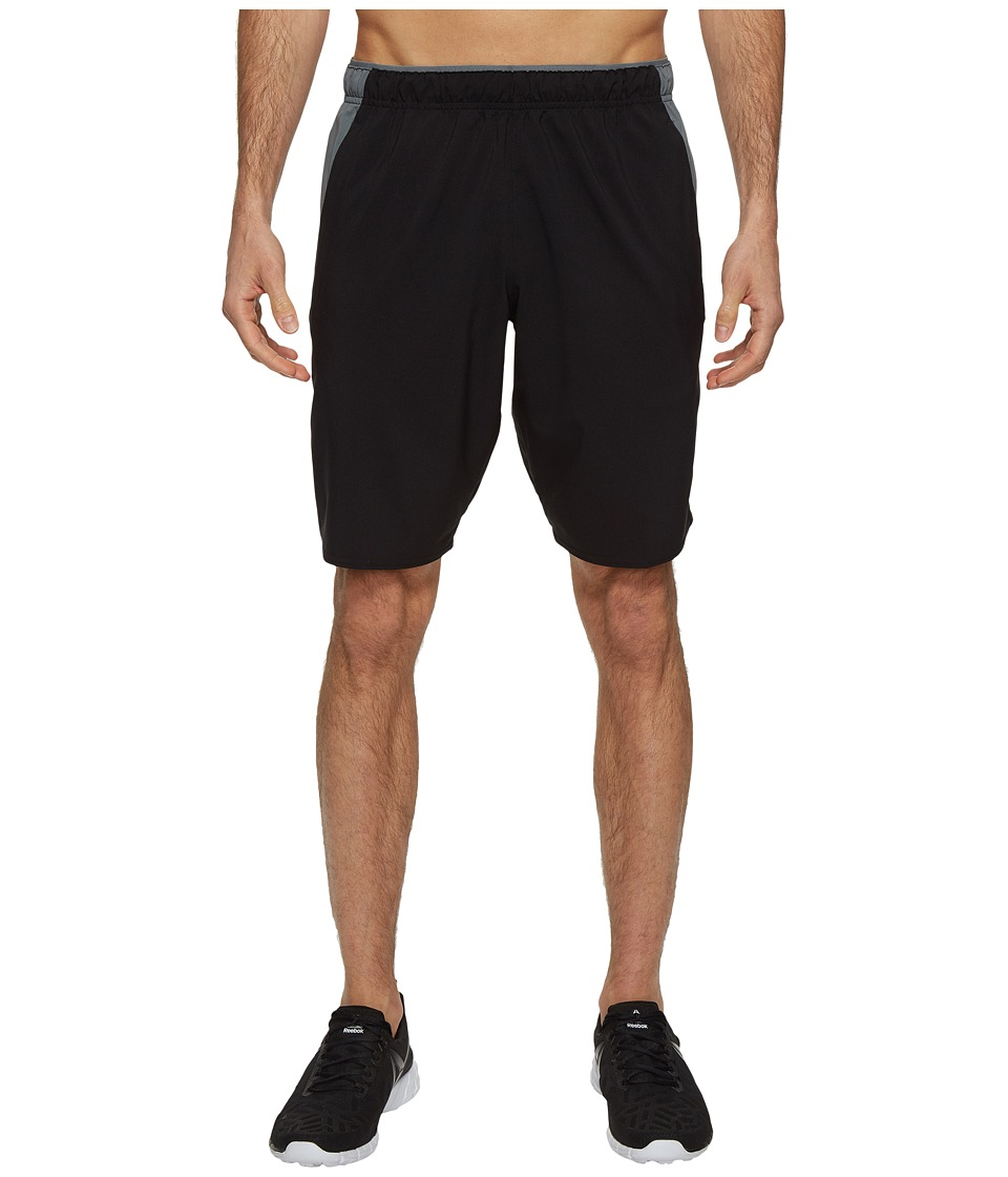 Reebok - Workout Ready Woven Shorts (Black) Men's Shorts