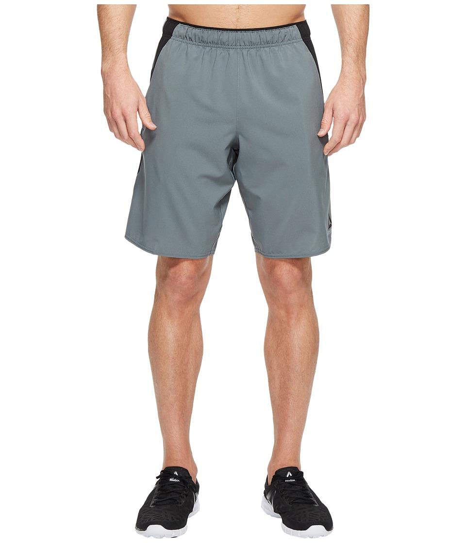 Reebok - Workout Ready Woven Shorts (Alloy) Men's Shorts