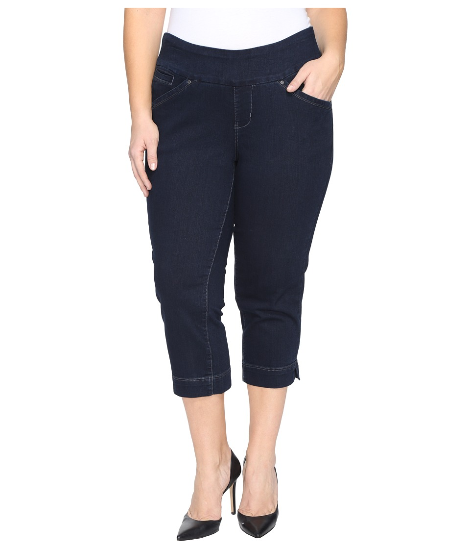 Jag Jeans Plus Size - Plus Size Marion Pull-On Crop in Comfort Denim in After Midnight (After Midnight) Women's Jeans