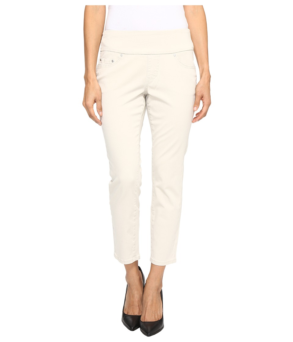 Jag Jeans Petite - Petite Amelia Pull-On Slim Ankle in Bay Twill (Stone) Women's Casual Pants