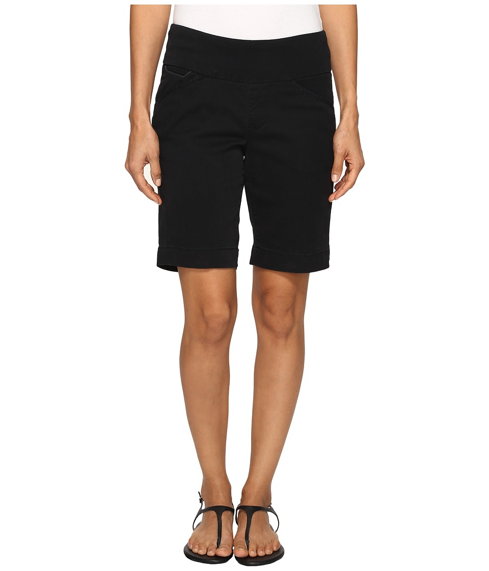 Jag Jeans Petite - Petite Ainsley Pull-On Classic Fit Bermuda Bay Twill (Black) Women's Shorts