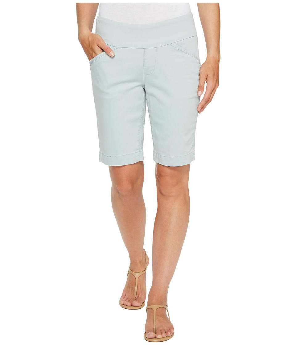 Jag Jeans Petite - Petite Ainsley Pull-On Classic Fit Bermuda Bay Twill (Soft Sage) Women's Shorts