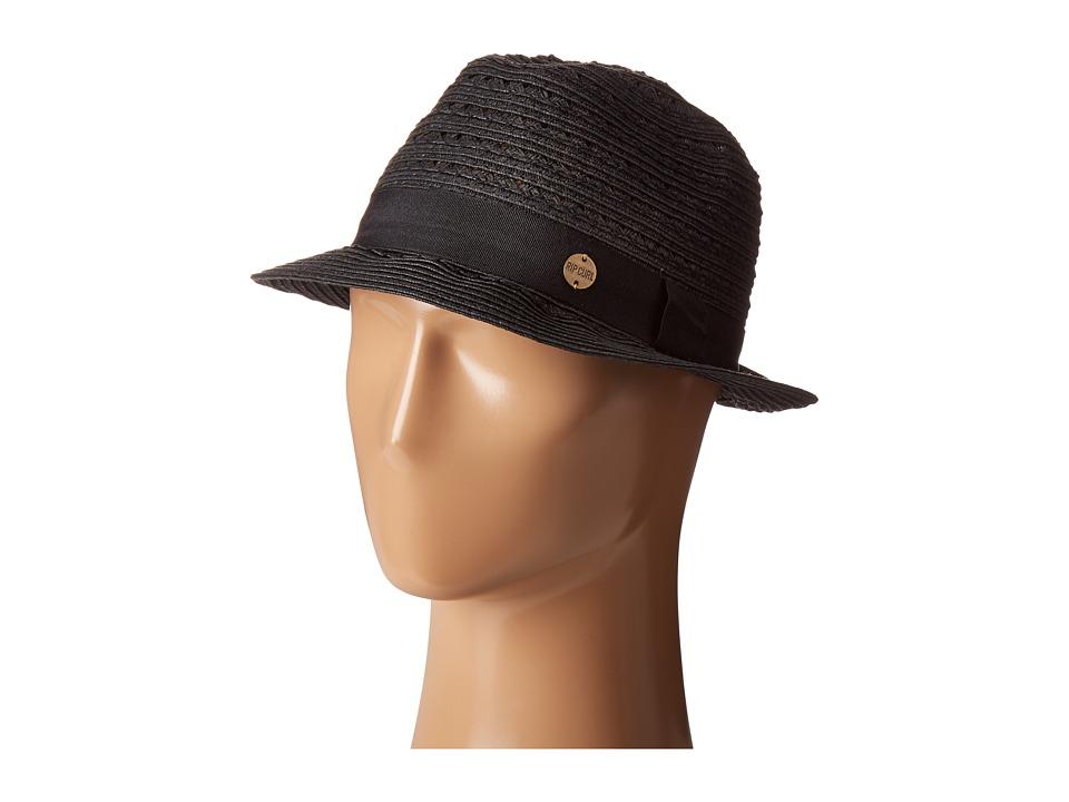 Rip Curl - Kalari Fedora (Black) Fedora Hats