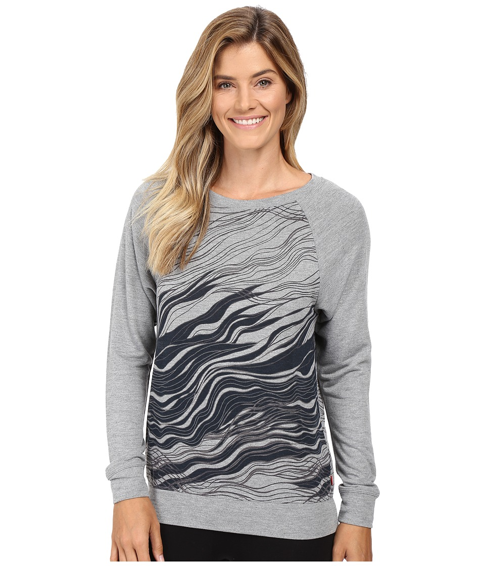 Josie - Break Dance Top 25 (Grey) Women's Pajama