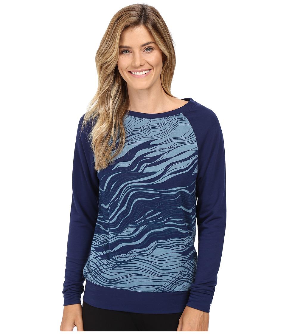 Josie - Break Dance Top 25 (Blue/Blue) Women's Pajama
