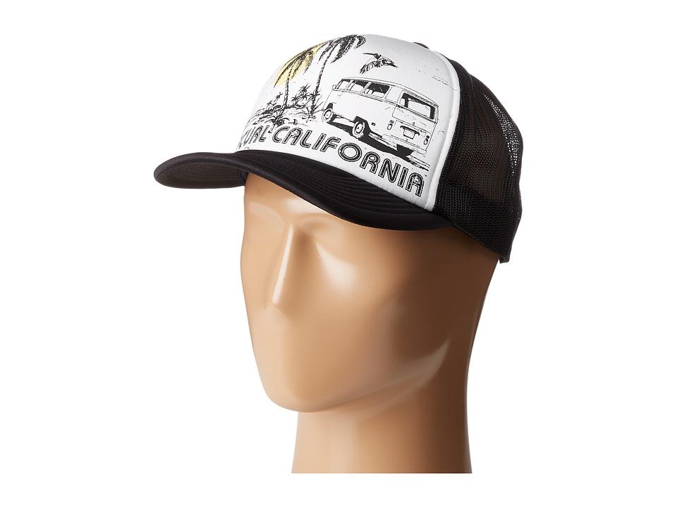 Rip Curl - Saturday Trucker (Black) Caps