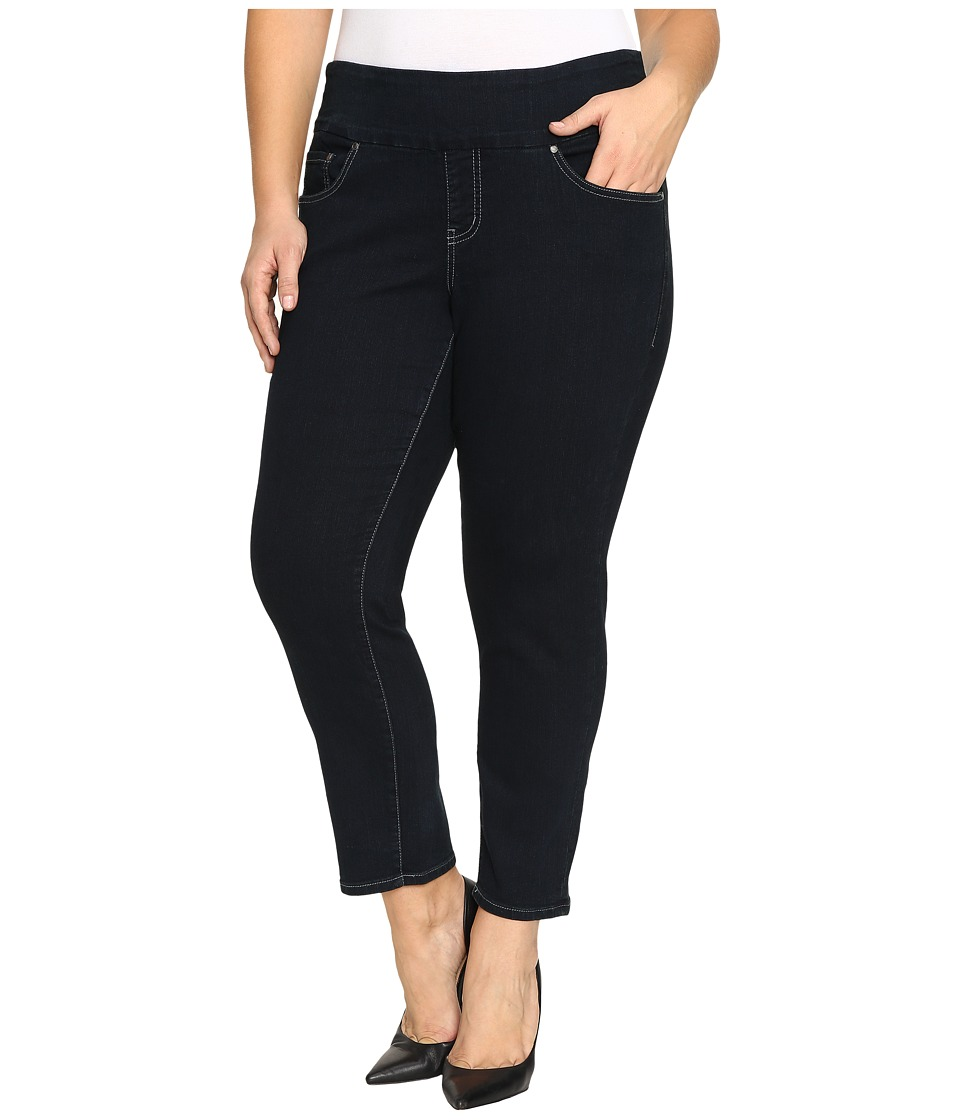 Jag Jeans Plus Size Plus Size Amelia Pull-On Slim Ankle Comfort Denim in After Midnight (After Midnight) Women
